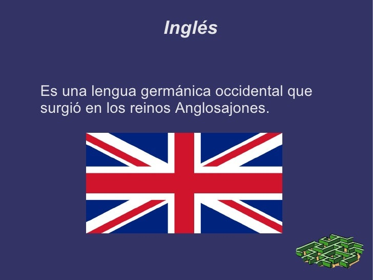 Italiano <ul>Proviene del dialecto toscano el cual hablaban los pueblos de Italia antes de la fundación del imperio romano...