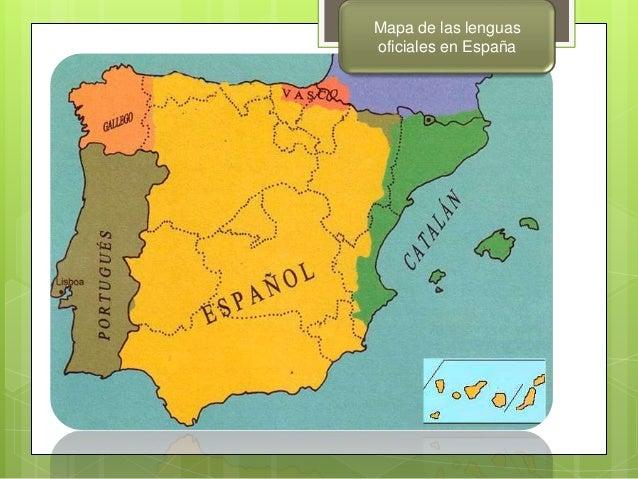 Mapa Lenguas De España.Blog C E I P Enriqueta Sanchez Las Lenguas De Espana