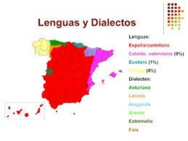 Dialectos De España Mapa.Lenguas Y Dialectos Espana