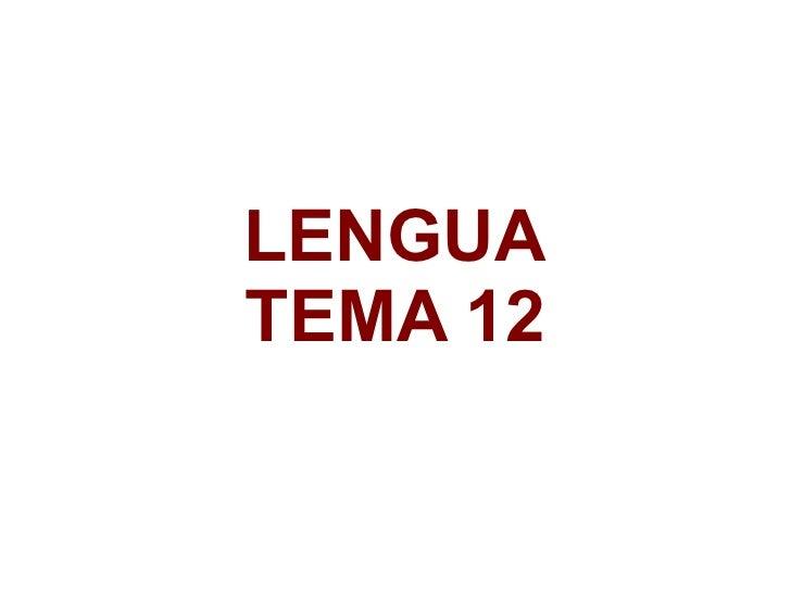 LENGUATEMA 12