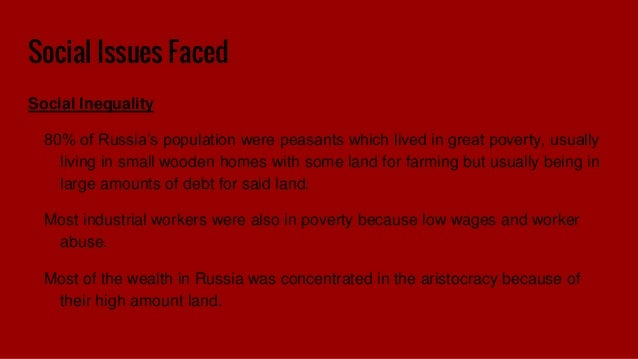 Problems lenin faced in introducing communism to russia agriculture under bolsheviks 12 social issues faced social inequality 80 of russias fandeluxe Choice Image