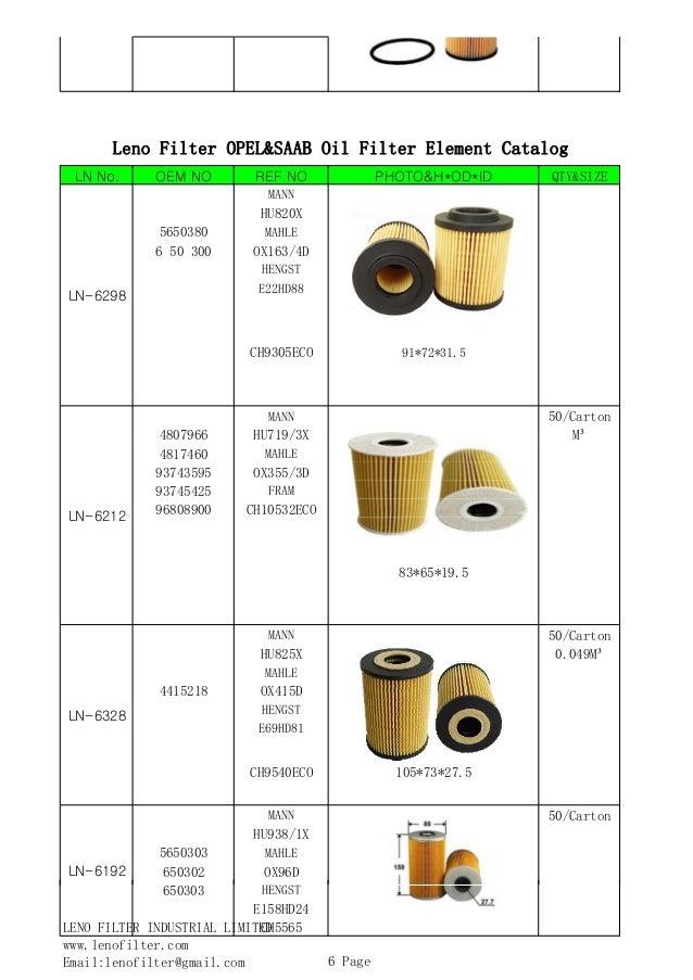 John Deere Filter Chart : Oil filter cross reference john deere suppliers