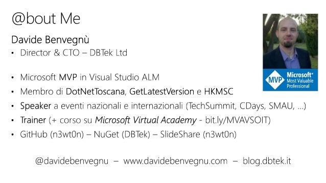 VS2017PI - Le novità di visual studio team services Slide 2