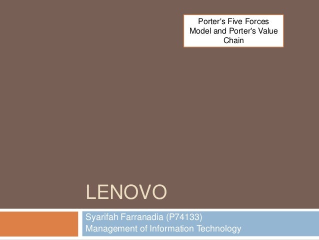 lenovo and porters five forces Porter's five forces to view this video please enable javascript, and consider  upgrading to a web browser that supports html5 video.