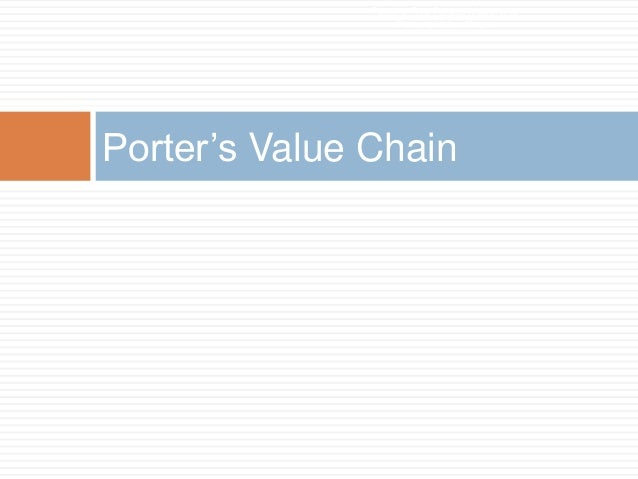 porter value chain lenovo