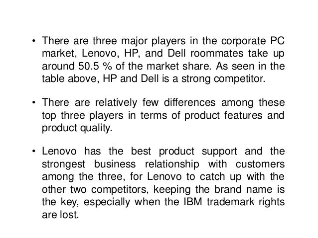 porter value chain lenovo Lenovo value chain - download as pdf file (pdf), text file (txt) or read online   the strategic marketing management analysis of lenovo group wang, wen  cheng  porter m the financial and economic publishing house (2003) 1(10) .