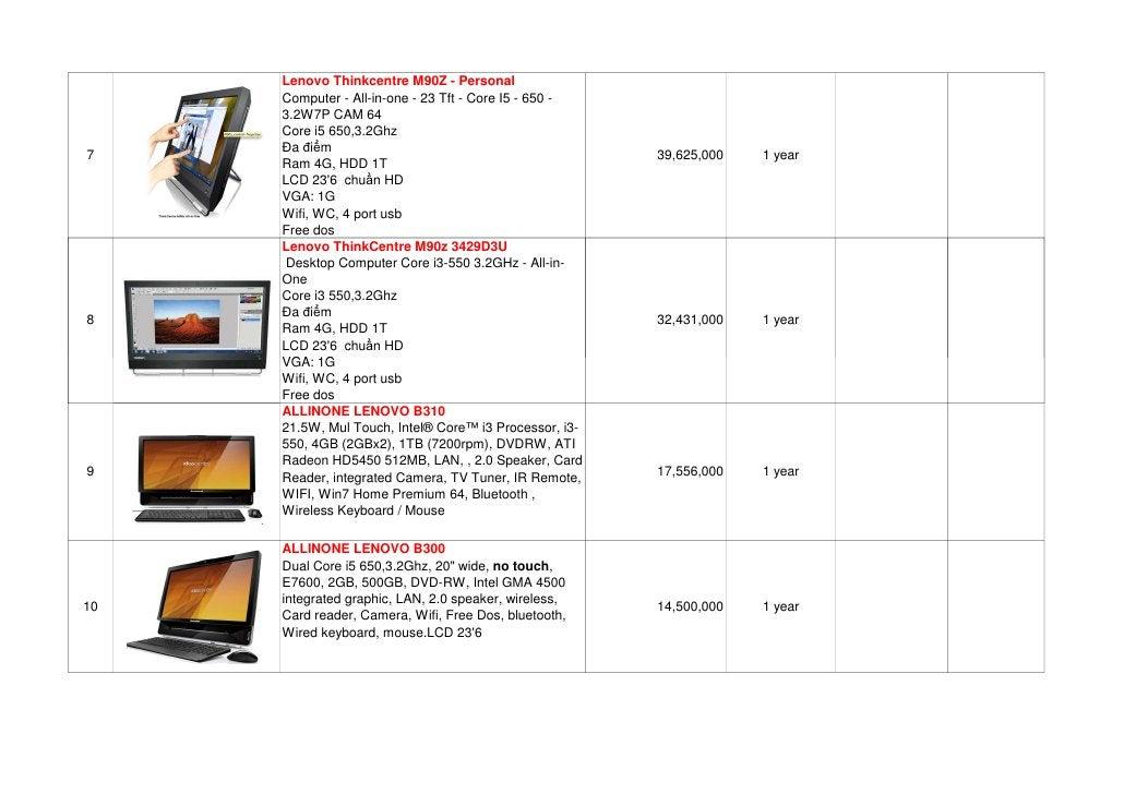Lenovo Thinkcentre M90Z - Personal     Computer - All-in-one - 23 Tft - Core I5 - 650 -     3.2W7P CAM 64     Core i5 650,...