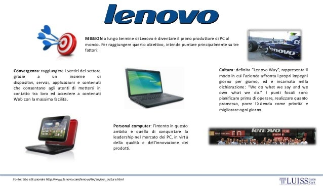 Lenovo's successful acquisition of the IBM PC Division ...