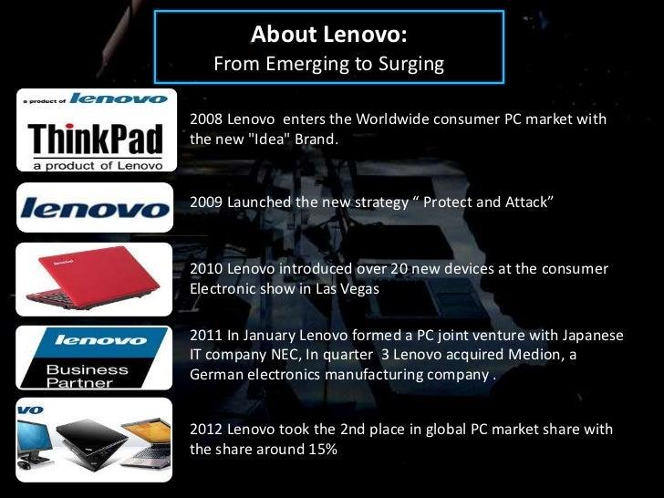 Strategic Analysis Of Lenovo Processing Company Commerce Essay