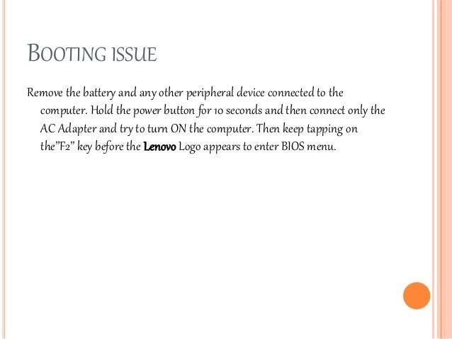 Lenovo g580 Manual