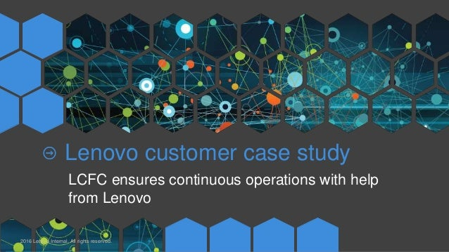 LCFC ensures continuous operations with help from Lenovo