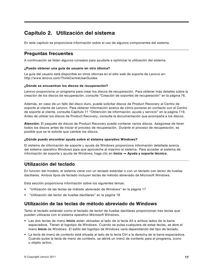 Lenovo Thinkcentre M81 manual