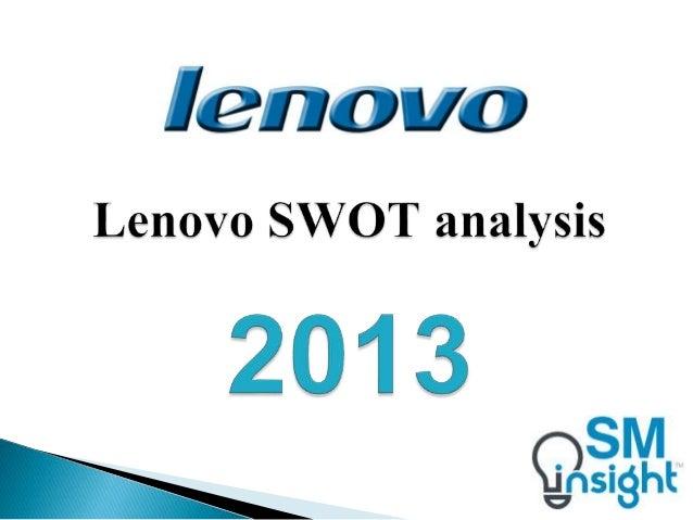 Swot analysis of lenovo