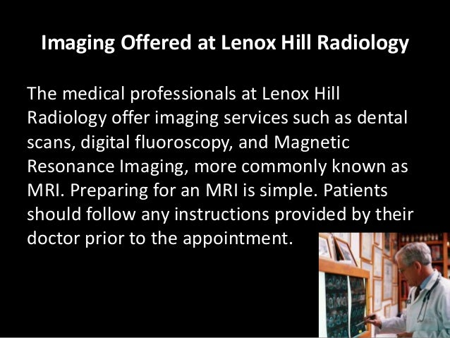 Lenox hill radiology presents: what you should know about