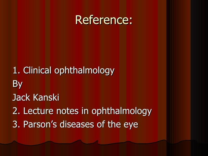 Ophthalmology 5th year, 3rd & 4th lectures (Dr  Khalid)