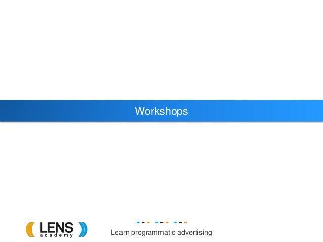 Learn programmatic advertising Workshops