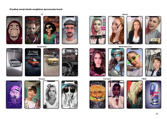 3 W pełnej wersji ebooka znajdziesz opracowania branż: TV Beauty Automotive Marki luksusowe Fast food FMCGMuzyka