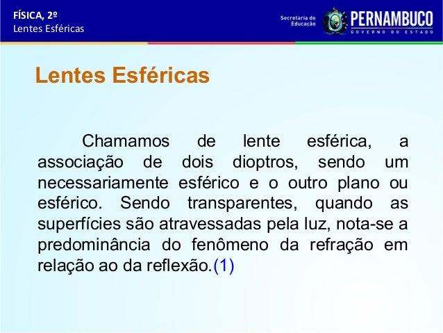 Lentes esféricas Slide 2