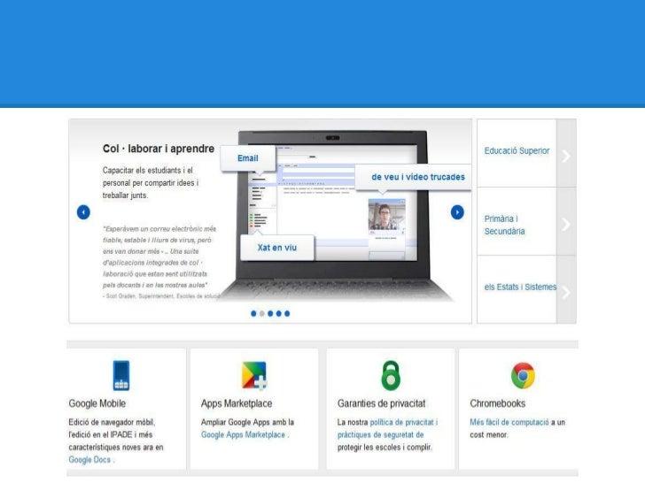 Google Drive aplicat a la docència - Francesc López i Vicent Ferrer Slide 3