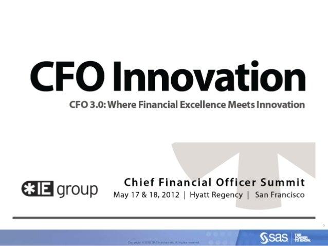 Cfo innovation cfo 3 0 where financial excellence meets innovation - Chief financial officer cfo ...