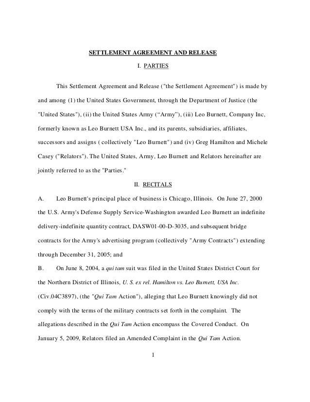 Leo Burnett-Settlement-Agreement