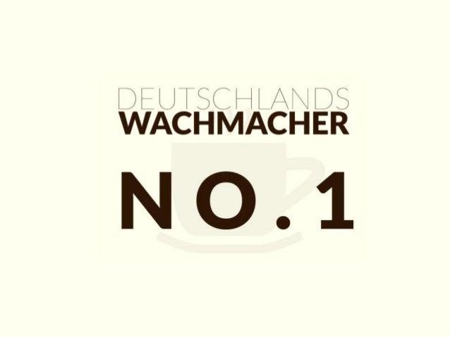 Deutschlands Wachmacher No.1 - noch heute Kaffeeautomaten mieten