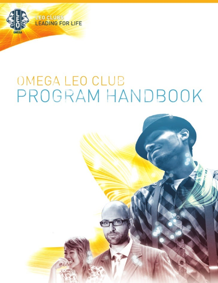 OMEGA LEO CLUBPROGRAM HANDBOOK
