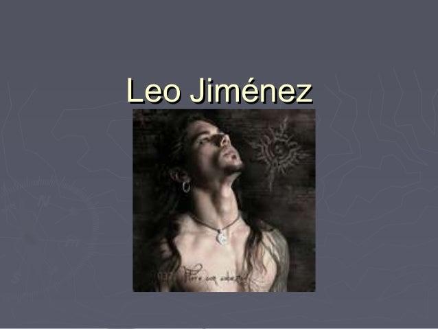 Leo JiménezLeo Jiménez