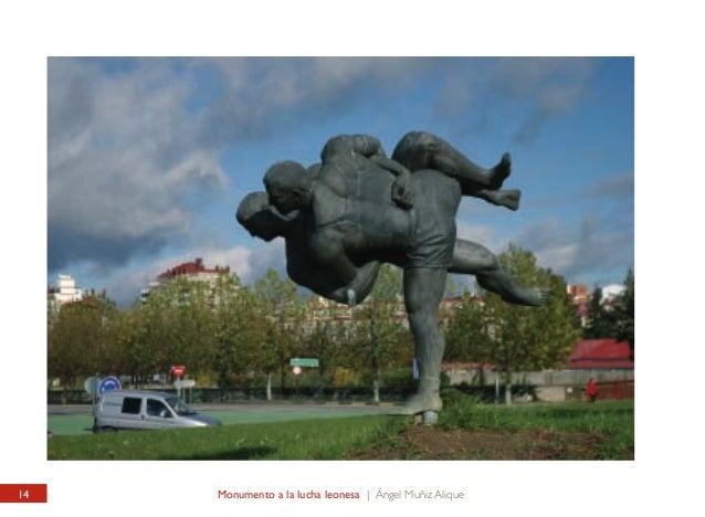 PLAZA DE TOROS / ESTADIO ANTONIO AMILIVIA Monumento a la Lucha Leonesa  BULLRING / ANTONIO AMILIVIA STADIUM Leonese Fight ...