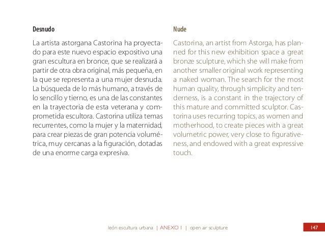 ANEXO 2 OTRAS INTERVENCIONES EN EL ESPACIO PÚBLICO DE LEÓN ANNEXE 2 OTHER WORKS IN PUBLIC SPACES OF THE CITY 148  Fórmula ...