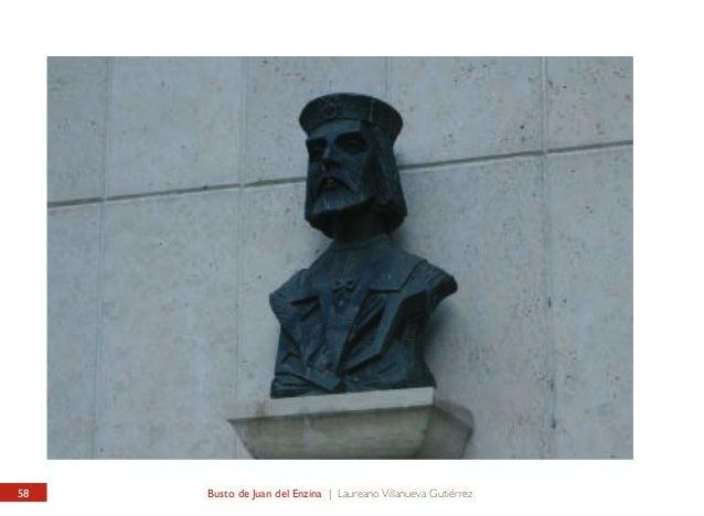 PLAZA DE SANTO DOMINGO / I.E.S. JUAN DEL ENZINA Busto de Juan del Enzina  SANTO DOMINGO SQUARE / JUAN DEL ENZINA STATE SEC...