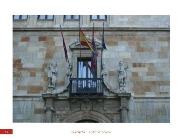 PALACIO DE LOS GUZMANES Guerreros  PALACIO DE LOS GUZMANES Warriors  En los años 50 del siglo XX, el restaurador gallego A...