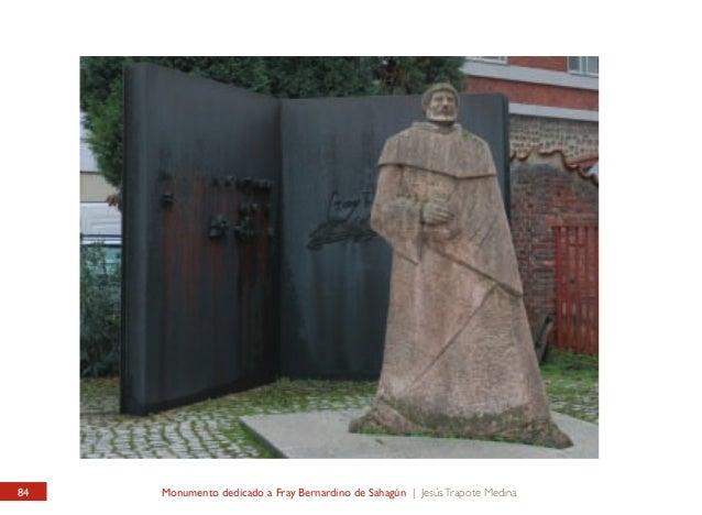 INSTITUTO LEONÉS DE CULTURA / PATIO Monumento dedicado a Fray Bernardino de Sahagún  LEONESE INTITUTE OF CULTURE / YARD Fr...