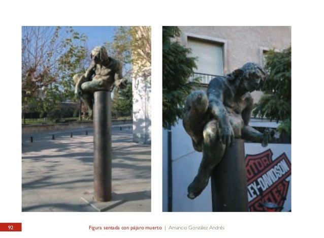 JARDÍN DEL CID / EXTERIOR Figura sentada con pájaro muerto  CID GARDEN / OUTSIDE Seating figure with a dead bird  Sugerente...