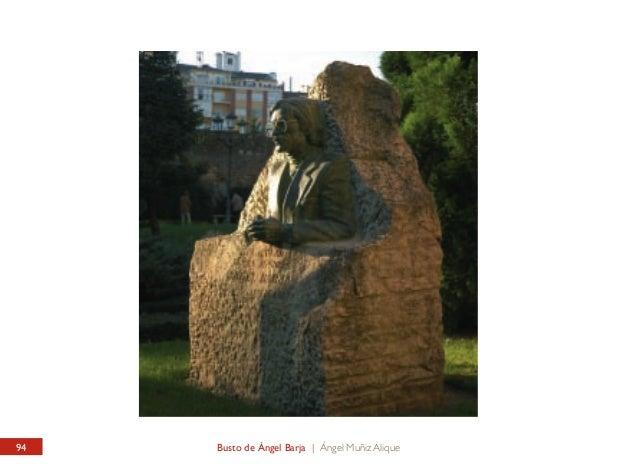 JARDÍN DEL CID / INTERIOR Busto de Ángel Barja  CID GARDEN / INSIDE Bust of Ángel Barja  Muy cerca de la casa donde vivió ...