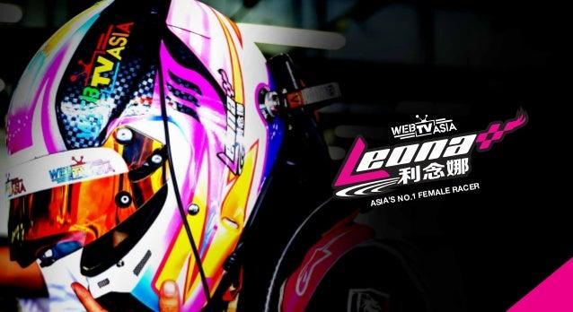 ASIA'S NO.1 FEMALE RACER