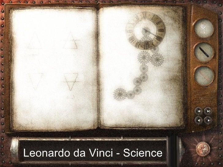 Leonardo da Vinci - Science