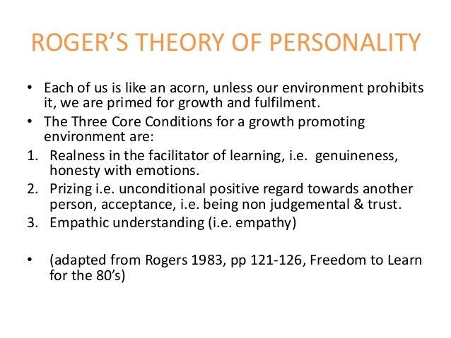 three core conditions