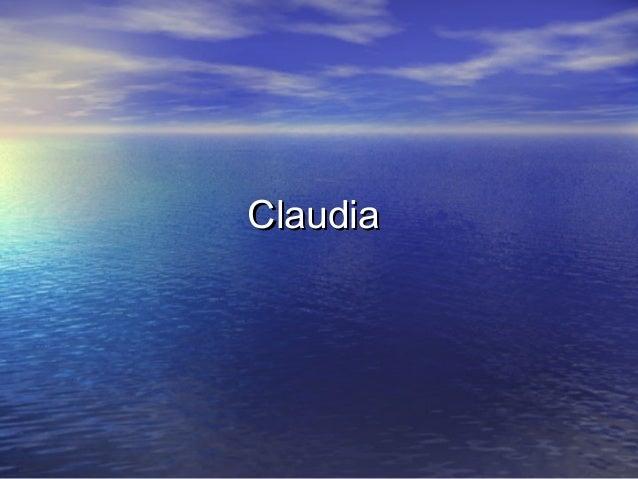 ClaudiaClaudia