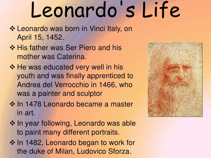 essay questions on leonardo da vinci More renaissance essay topics leonardo da vinci and michelangelo buonarroti were two renowned personalities during the renaissance period.