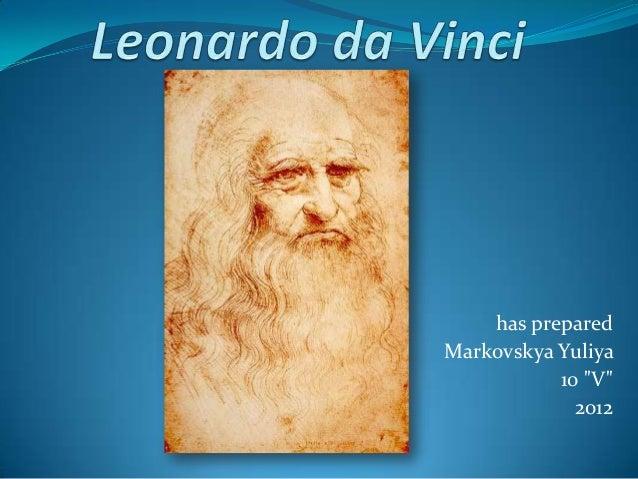 """has prepared Markovskya Yuliya 10 """"V"""" 2012"""