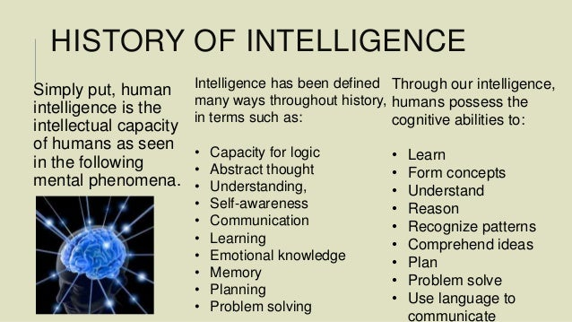 HISTORY OF INTELLIGENCE PDF DOWNLOAD