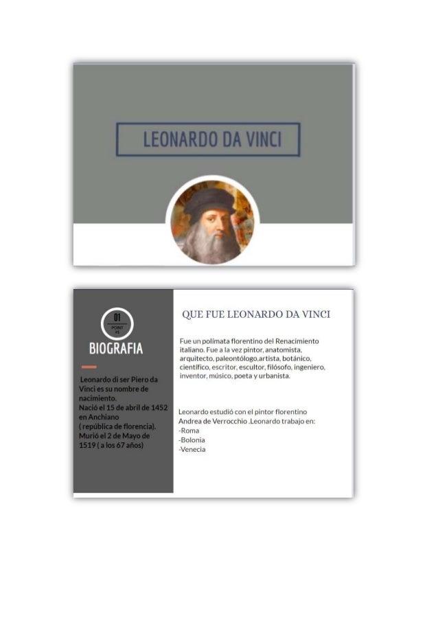 Leonardo da vinci elvira artistica