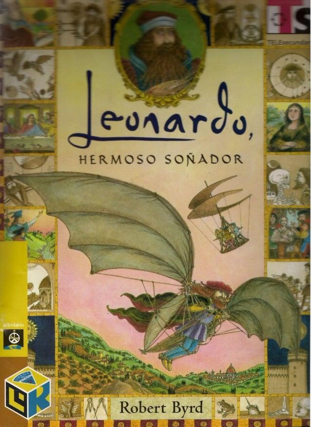 Leonardo hermoso soã±ador.