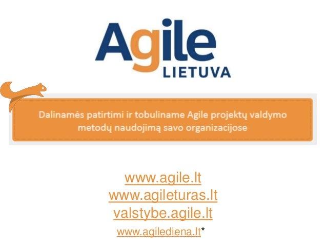 Leonard Vorobej.Apie Agile Lietuva.Agilepusryciai2019 Slide 2