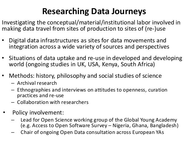 The Challenges of Making Data Travel, by Sabina Leonelli