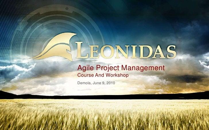 Agile Project ManagementCourse And Workshop<br />Demola, June 9, 2010<br />