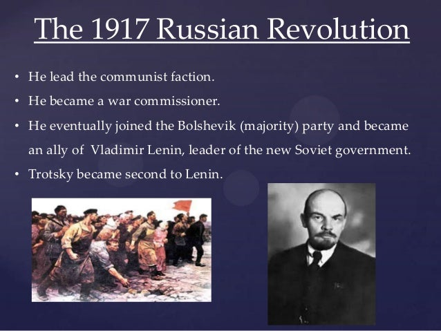 a look into achievements of lenin and trotsky in october revolution The radical hopes of the russian revolution was the october revolution bound to lead to terror china miéville's october and tariq ali's the dilemmas of lenin reconsider the history.