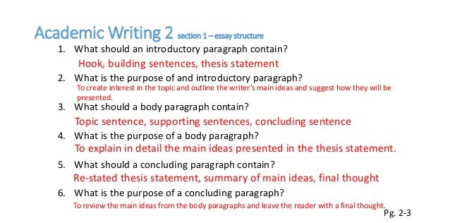 Essay about behavior writing