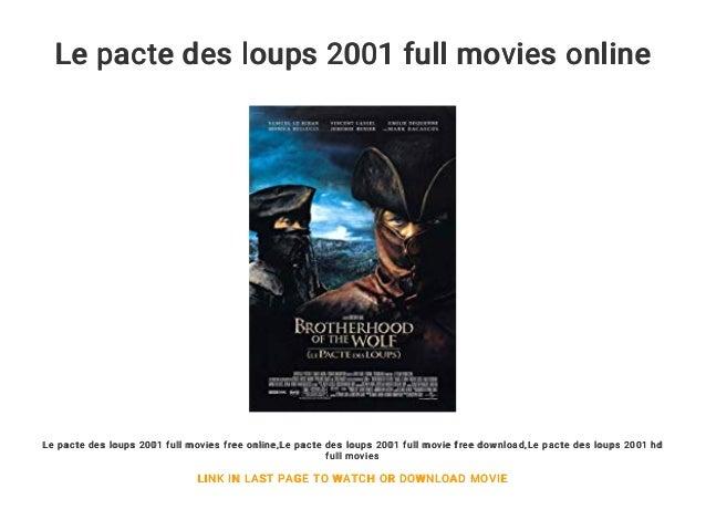 DES PACTE TÉLÉCHARGER UPTOBOX LE LOUPS